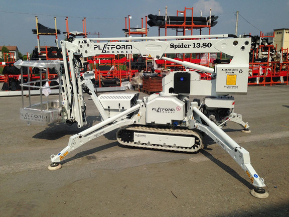 Scarlett Grace 13m tracked spiderlift cherrypicker from High Reaching Solutions Malton York