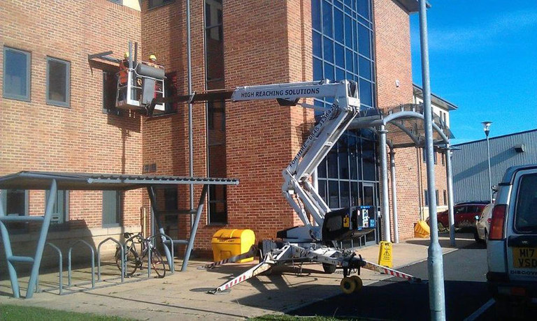 Delila 16m towable cherrypicker from High Reaching Solutions Malton York